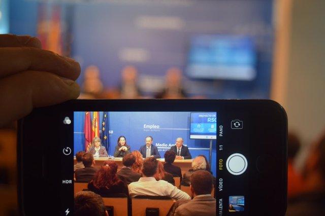 Imagen de la inauguración de la jornada de Responsabilidad Social Corporativa