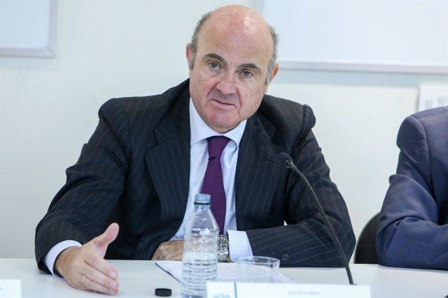 El vicepresidente del Banco Central Europeo, Luis de Guindos, inaugura la XXIX e