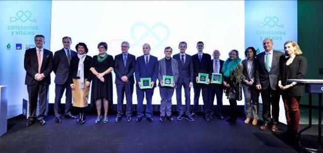 Entrega premios Constantes y Vitales 2018