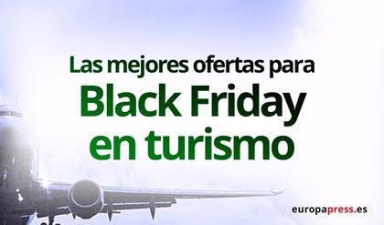 Las mejores ofertas del 'Black Friday' para viajar