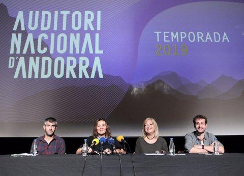 Presentació de la temporada 2019 de l'Auditori Nacional