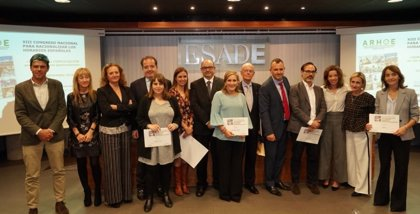 Pfizer, Softmachine, CSIF, Europa Press e Ignacio Buqueras recogen los premios ARHOE