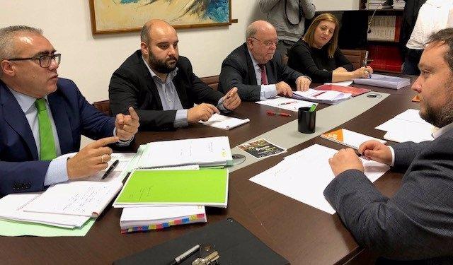 Reunión PRC-PSOE y Cs sobre los PGC 2019