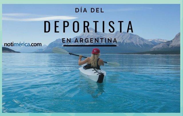 DÍA DEL DEPORTISTA EN ARGENTINA
