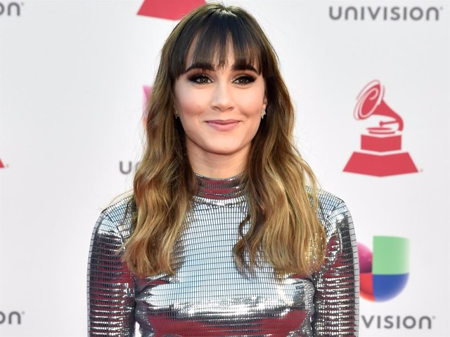Aitana en la 19 edición de los Latin Grammy