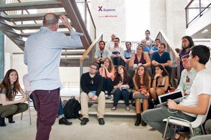 Santander lanza una nueva edición del programa Explorer para jóvenes emprendedores