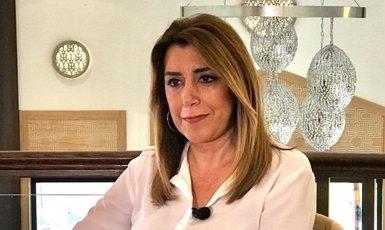 """Susana Díaz troba """"un disbarat"""" parlar d'indults als independentistes quan la causa del procés està """"en desenvolupament"""" (PSOE-A (TWITTER))"""
