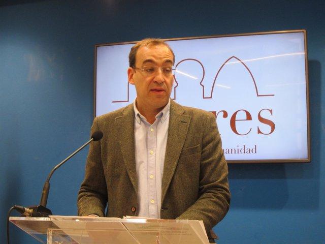 Rafael Mateos, portavos del Gobierno local
