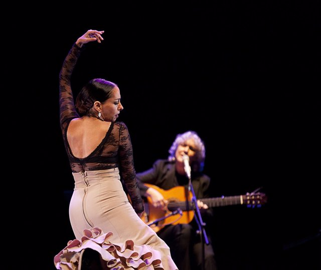 Belen Maya y Mayte Martín actuación flamenco baile