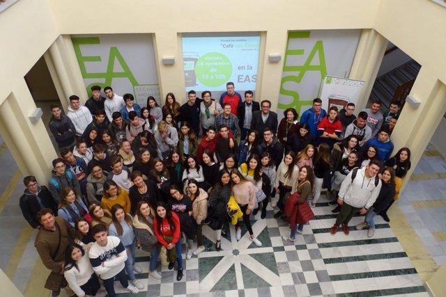 Actividad divulgativa en la Escuela Andaluza de Salud Pública