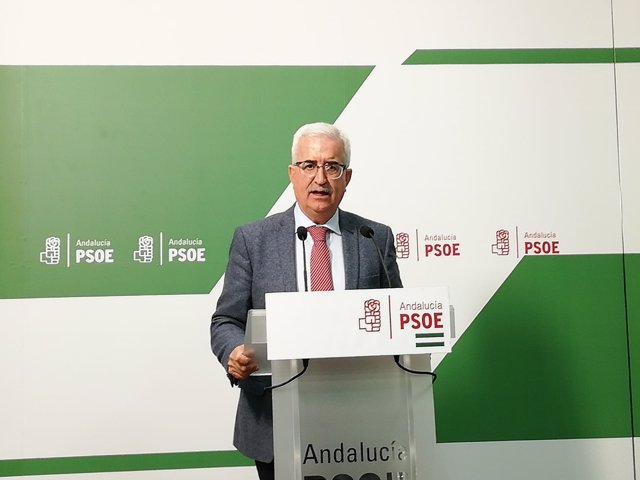 El candidato del PSOE de Cädiz al Parlamento andaluz, Jiménez Barrios