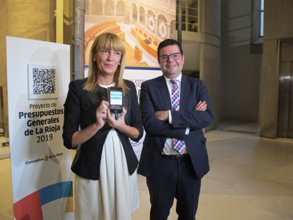 El Gobierno regional entrega en el Parlamento los Presupuestos Generales de La Rioja para 2019
