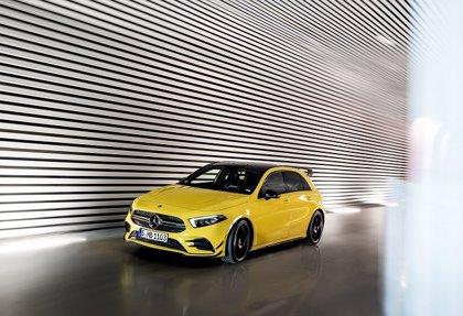 El nuevo Mercedes-Benz AMG A 35 4Matic llegará a los concesionarios españoles en marzo