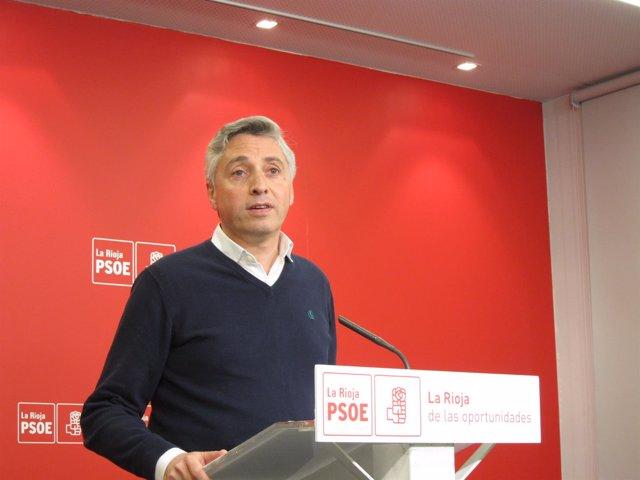 El portavoz adjunto del PSOE, Francisco Ocón
