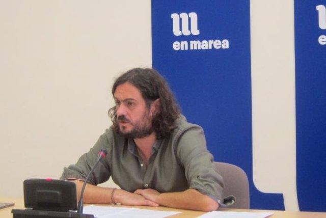 El diputado de En Marea Antón Sánchez