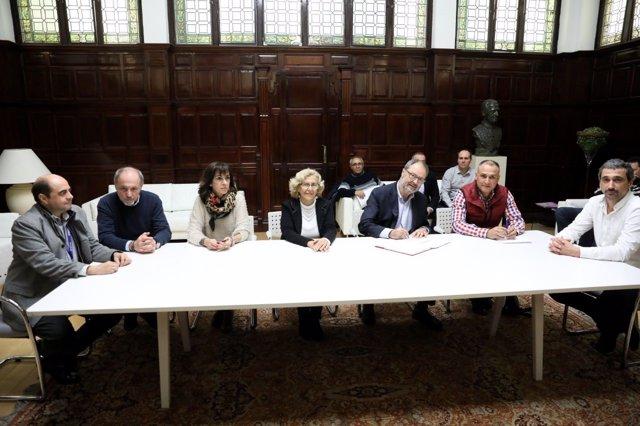Acuerdo de Ayuntamiento de Madrid con los sindicatos de Policía