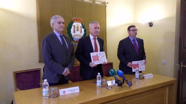 Antonio Pedraza, Juan Carlos Robles y Fernando del Alcázar