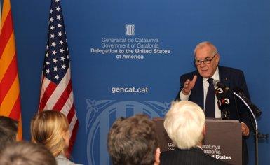 """Maragall celebra la reobertura de la delegació del Govern als EUA després d'""""un any de foscor"""" (GENCAT)"""