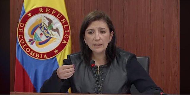 Vicepresidenta de la Corte Constitucional de Colombia, Gloria Stella Ortiz