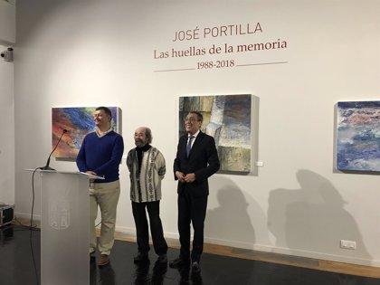 El Museo de Salamanca muestra una recopilación de las últimas obras del pintor José Portilla