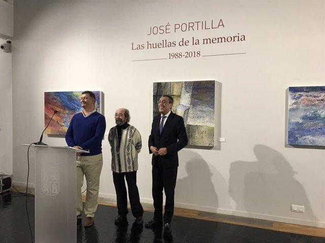 Presentación de la exposición en el Museo de Salamanca.