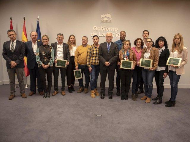 Empresas solidarias entrega certificados