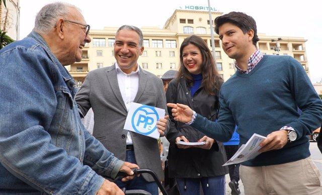Bendodo en rueda de prensa en Málaga