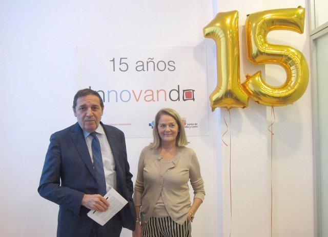 Antonio María Sáez Aguado y Lydia Blanco en el Chemcyl