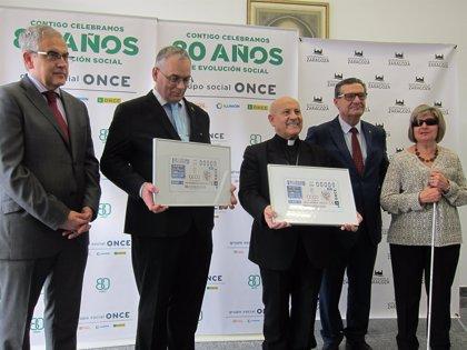 La ONCE dedica su cupón del 28 de noviembre a Ciegos Españoles Católicos, que nació en Zaragoza hace 25 años