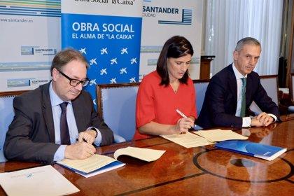 Cerca de 80 niños de General Dávila se beneficiarán de un plan de inclusión social de la Caixa
