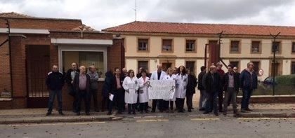 Funcionarios de prisiones de Soria se solidarizan con sus compañeros de Huelva y Topas tras las agresiones sufridas