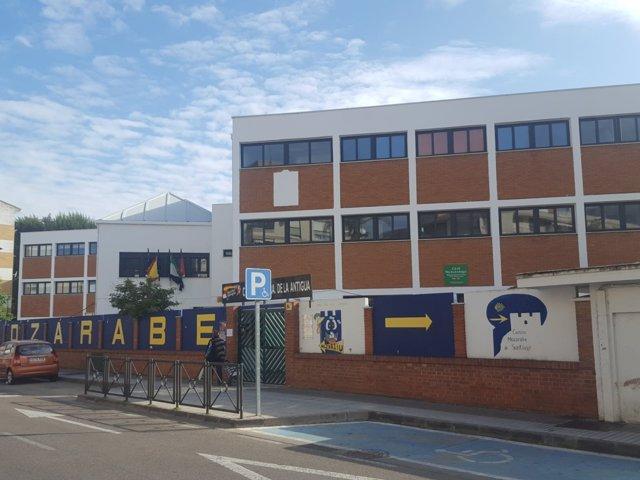 Imagen de la fachada del Colegio de Nuestra Señora de La Antigua en Mérida