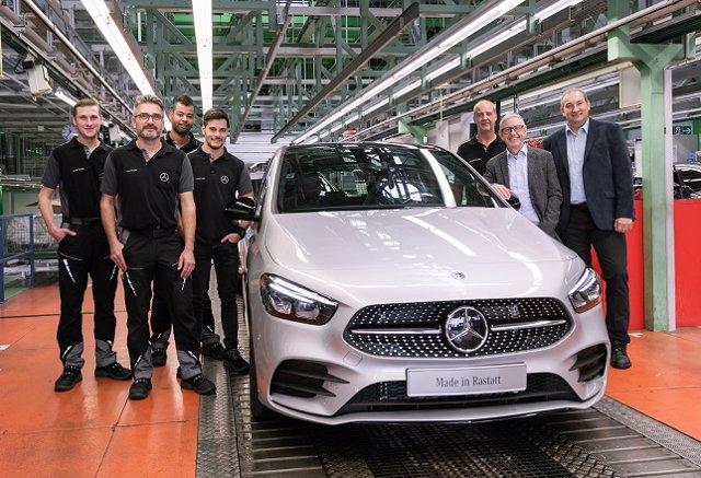 Mercedes-Benz comienza a producir en Alemania el Clase B, disponible para pedido