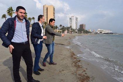 Medio Ambiente activa un protocolo para evaluar los efectos de las fuertes lluvias sobre el Mar Menor