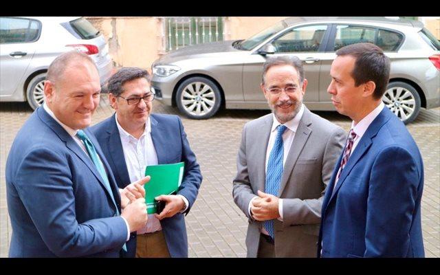 López avanza que la Junta prevé licitar la conexión entre Autovía del Almanzora y A-7 en 'los próximos meses'