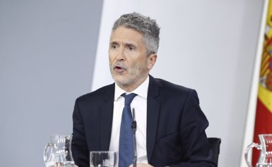 """Marlaska convida a no donar un """"altaveu excessiu"""" als atacs d'Arran contra el jutge Llarena i la Policia (Eduardo Parra - Europa Press)"""