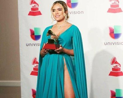 Karol G deja huella tras su paso por los Grammy Latinos 2018