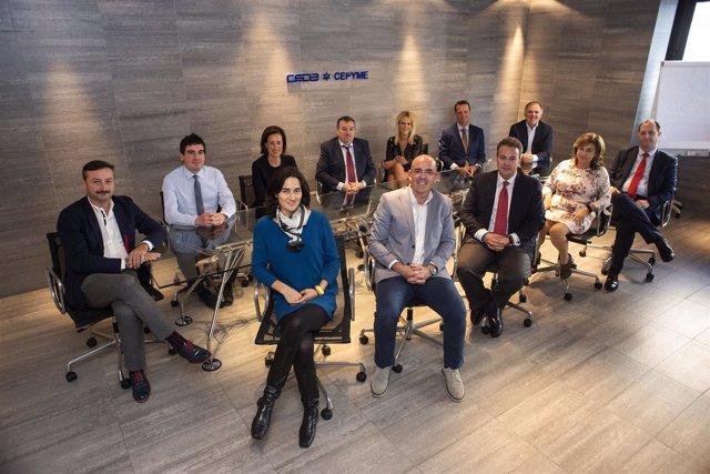 Nueva Junta Directiva CEOE 2018