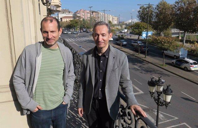 El ingeniero forestal Amadeo Vidal y el filólogo Josep Ballester