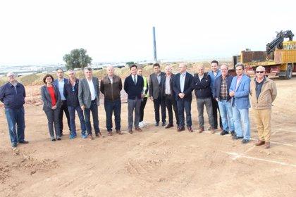 Arrancan obras de la planta de Frutilados, que estará en funcionamiento en 2019 para tratar restos vegetales