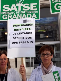 """Satse convoca nueva protesta ante los """"nulos avances"""" para resolver oposiciones"""