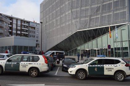 Prisión sin fianza para los 17 investigados por narcotráfico tras declarar en Ourense