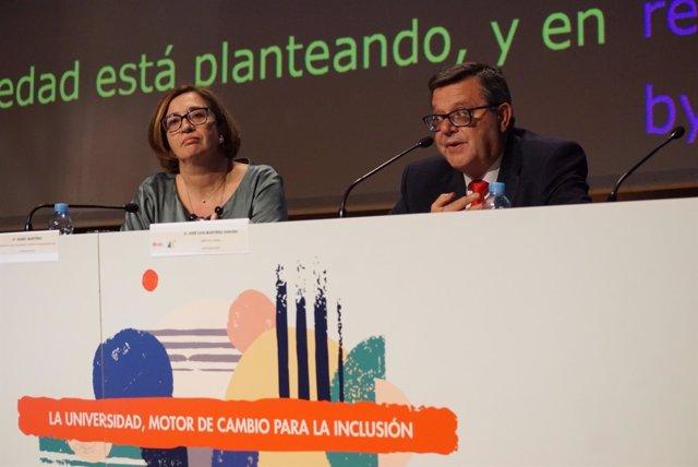El director general de Fundación ONCE, José Luis Martínez Donoso