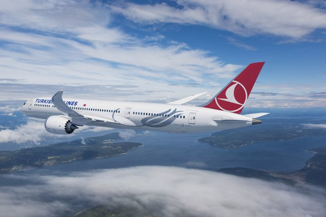Aviones de Turkish Airlines