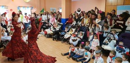 La Junta celebra el Día Internacional del Flamenco con un acto en la Escuela Infantil 'El Olivo' de Olvera (Cádiz)