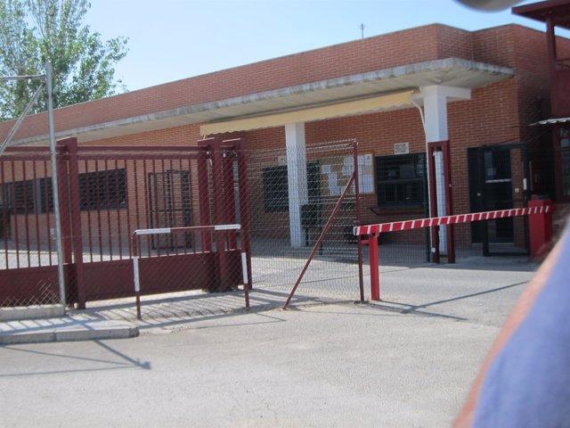 Acceso a la cárcel de Jaén