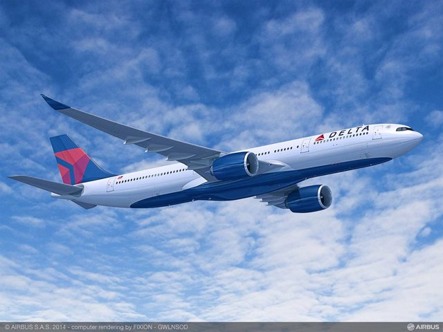 Avión A330-900 de Delta Air Lines