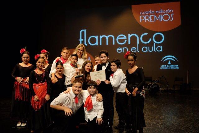 Entrega de los premios 'Flamenco en el Aula'