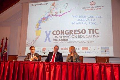 """Fernando Rey: """"Escuelas Católicas ofrece muchísimo al sistema educativo de Castilla y León"""""""