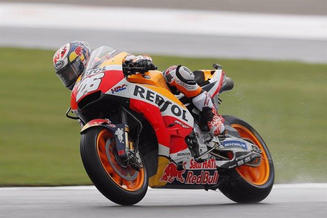 Dani Pedrosa en el GP de Valencia